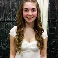 Alexandra d'Entremont received marks of 89 and 93 in Vocal 15 years and under