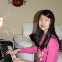 Amy Cui received a mark of 89 in 14 years and under Piano