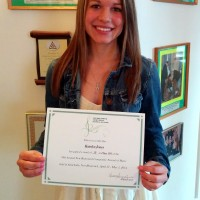 Katelyn Jones received a mark of 91 in Poplar/Jazz 18 years and under