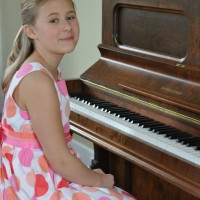 Maddie Way received a mark of 89 in 10 years and under Piano
