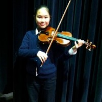 Younseo Heo received a mark of 90 in Level V Violin