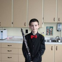 Alexandre Hovey received the following marks:  Class 821B Clarinet - Elementary RCM Grade 3 to Grade 4 - Own Choice: 90