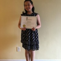 Cici (Tiangi) Ling Received a Gold in Class 601A